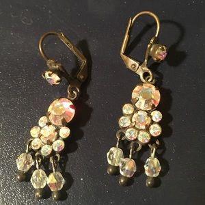 Sorrelli Iridescent Crystal Drop Earrings